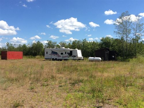 120 Acres Land Northern Minnesota : Kettle River : Carlton County : Minnesota