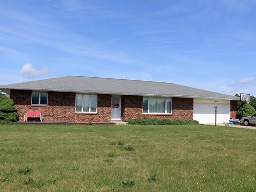 Ranch Home 80 Acres Northeast Mo : Atlanta : Macon County : Missouri