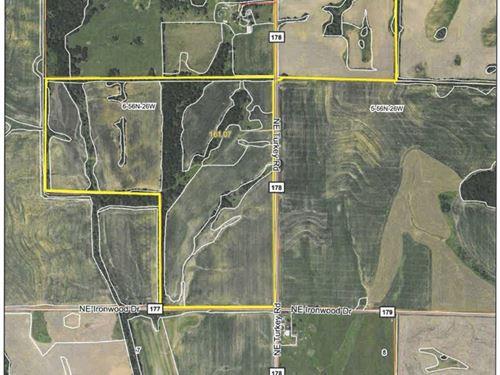 161 Acre M/L Row Crop Farm For Sale : Breckenridge : Caldwell County : Missouri