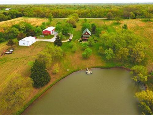 Missouri Recreational Tract Home : Bucklin : Linn County : Missouri