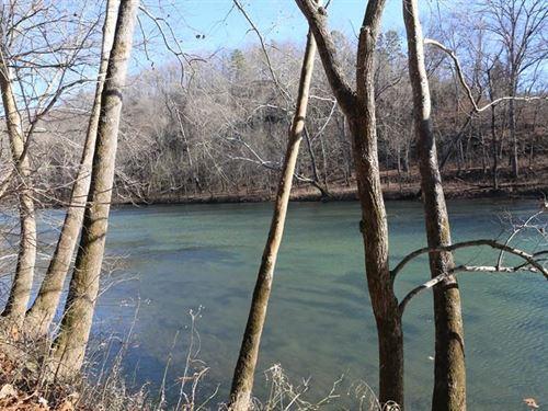 Missouri Ozarks River Front Lot : Dora : Ozark County : Missouri