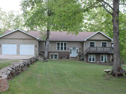 Southern Mo Custom Country Home : Ellington : Reynolds County : Missouri