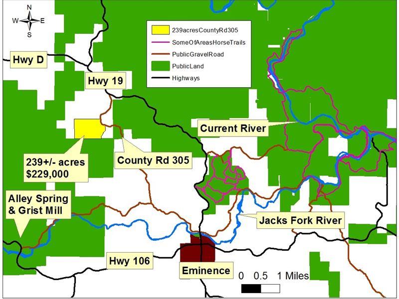 Missouri Hunting Land Inside Elk Ranch For Sale Eminence