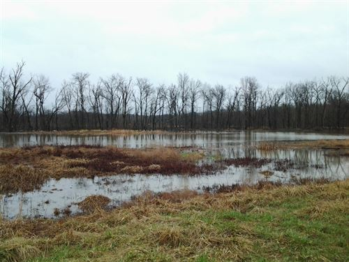 Land Mo, 100+ Acre Wetland : Fayette : Howard County : Missouri