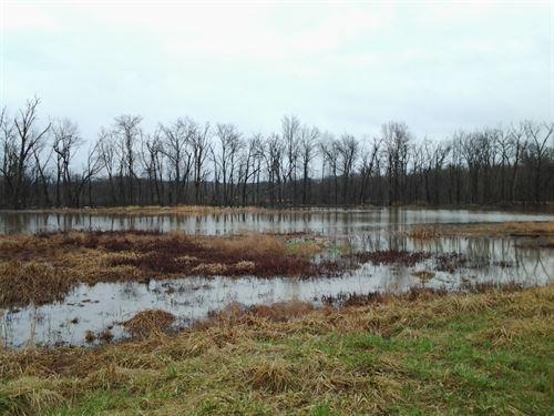 Land Mo, 100+ Acre Wetland : Fayette : Howard County : Missouri