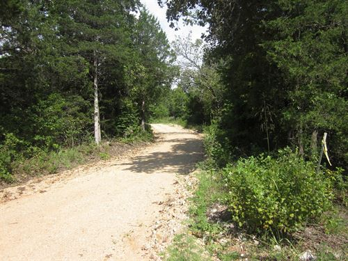 Missouri Ozarks Hunting Land : Gainesville : Ozark County : Missouri