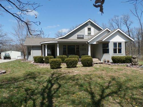 Custom Built Farm House : Miller : Lawrence County : Missouri