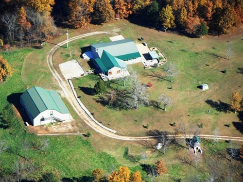 363 Acre Hunting Property And Home : Norwood : Douglas County : Missouri
