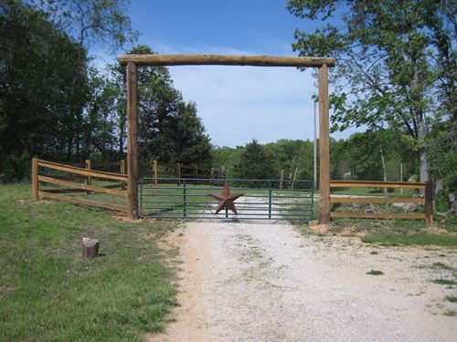 67 Acres of Pasture Wooded Land : Salem : Dent County : Missouri