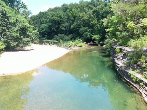 Gorgeous River Land Surrounded Mark : Thornfield : Ozark County : Missouri