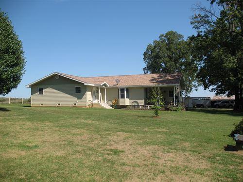 Missouri Ozarks Dairy Cattle Ranch : Vanzant : Douglas County : Missouri