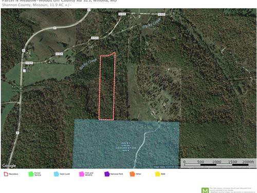11 Acres Land Shannon County : Winona : Shannon County : Missouri