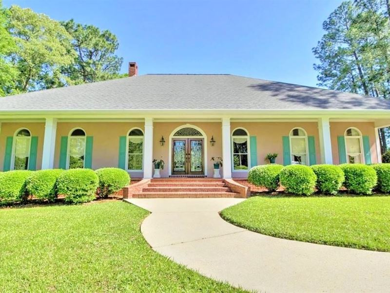 Country Estate Lamar County Purvis : Ranch for Sale in ...