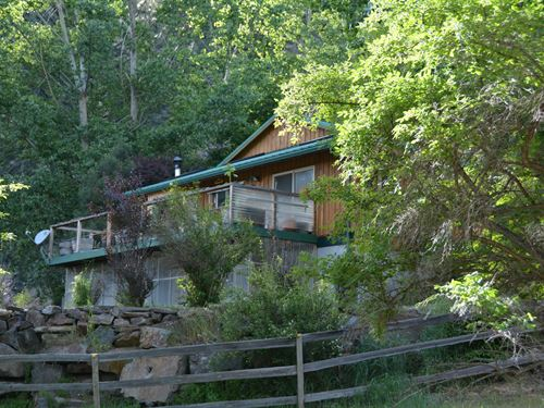 Sustainable Home With Acreage : Paradise : Sanders County : Montana