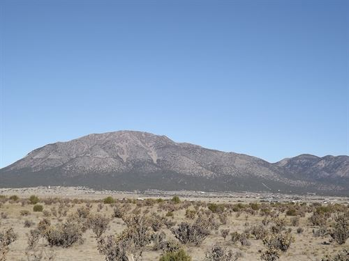10 Acres Vacant Land Horse Property : Edgewood : Santa Fe County : New Mexico