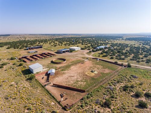 Central NM Ranch Horse Property : Mountainair : Torrance County : New Mexico
