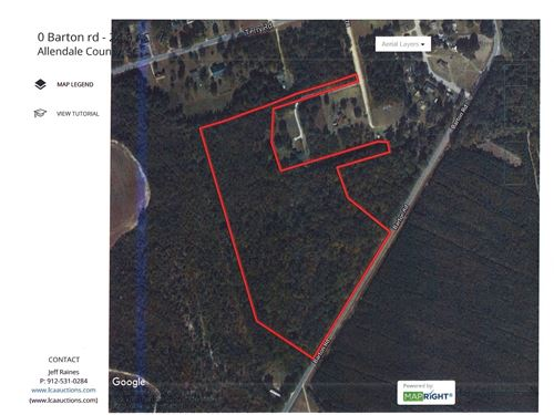 25 Acres Land Allendale County, SC : Fairfax : Allendale County : South Carolina