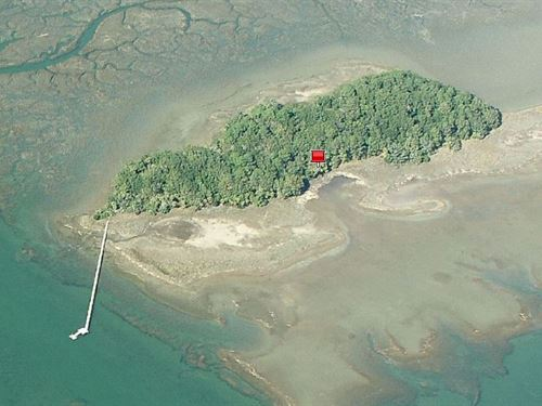 Private 30 Acre Island Off Beaufort : Saint Helena Island : Beaufort County : South Carolina