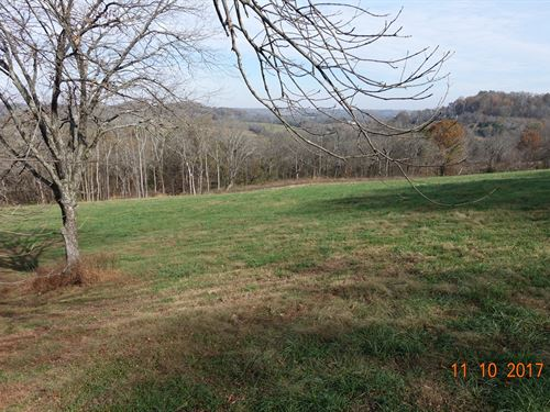 Build Your Dream Home Views Galore : Santa Fe : Maury County : Tennessee