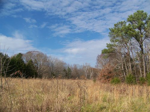 Tn Land To Build Home On, Pasture : Savannah : Hardin County : Tennessee