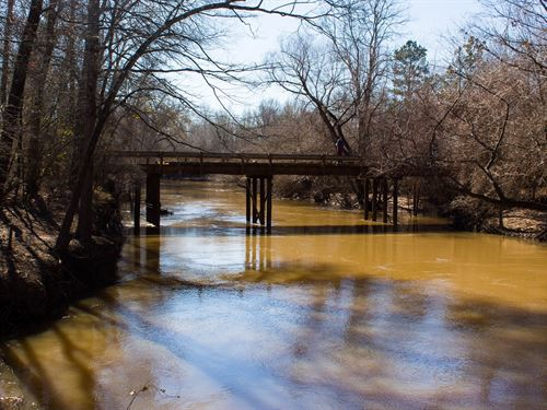 Land Angelina River, Cr Frontage : Cushing : Nacogdoches County : Texas