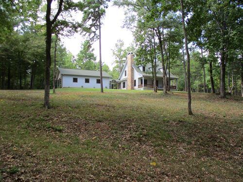 Anderson County Home, Land, Creek : Grapeland : Anderson County : Texas