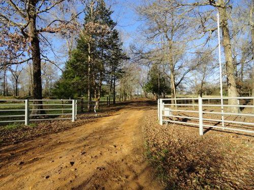 Cherokee County Country Home : Jacksonville : Cherokee County : Texas