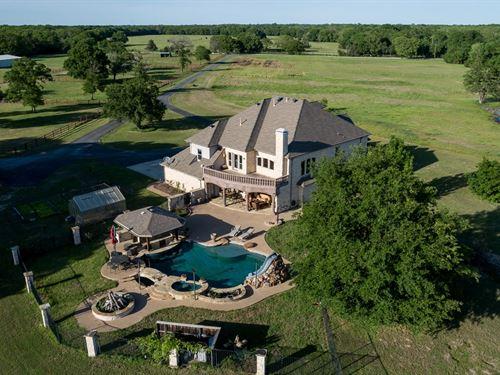 Hidden Creek Ranch Terrell, Texas : Terrell : Kaufman County : Texas