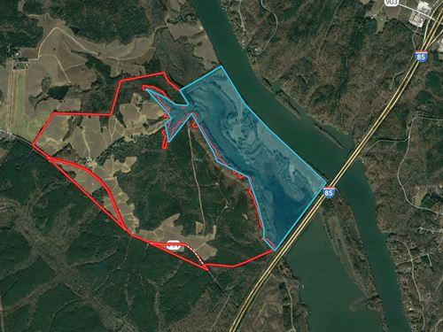 Riverside 886 Acre Lake Gaston : Boydton : Mecklenburg County : Virginia
