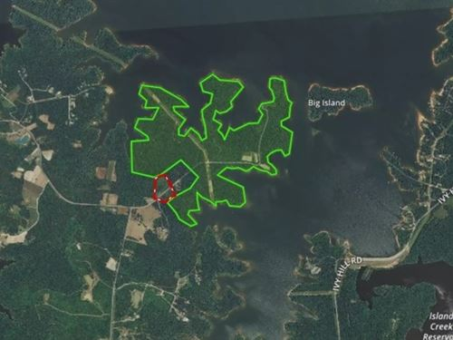 Wooded Wonderland On Kerr Lake, VA : Clarksville : Mecklenburg County : Virginia