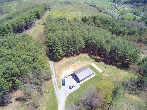 Elk Creek Valley Mini-Farm : Elk Creek : Grayson County : Virginia