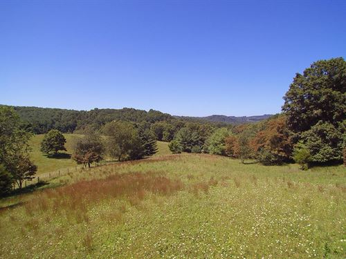 Acreage, Views Water Blue Ridge : Elk Creek : Grayson County : Virginia
