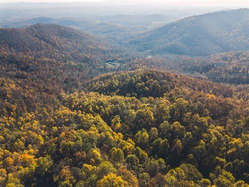Over 100 Acres Recreational : Ferrum : Franklin County : Virginia