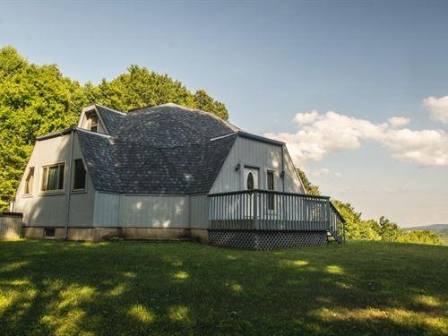 Secluded Geodesic Dome Blue Ridge : Floyd : Virginia