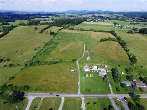 Winery Business & 36 Acres Rural : Rural Retreat : Wythe County : Virginia