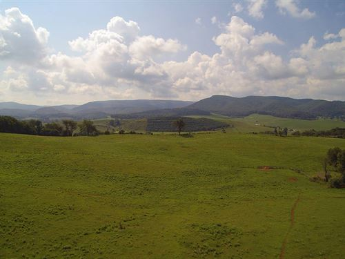 Beautiful Working Farm Mountains : Sugar Grove : Smyth County : Virginia