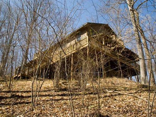 Custom Log Home Smith River : Woolwine : Patrick County : Virginia