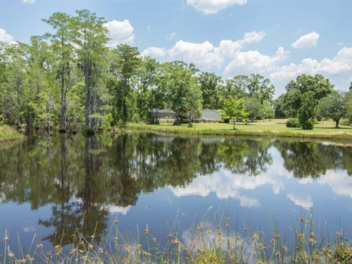 154 Acres & Home, Pond, Hunting : Hartford : Geneva County : Alabama