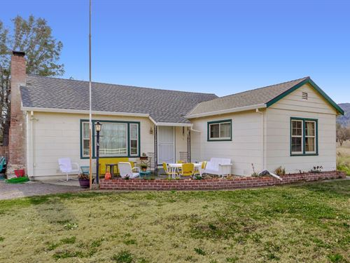 Yolo County Country Home, Capay : Brooks : Yolo County : California