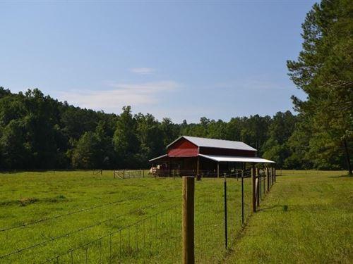 North Georgia Farm/River Front/Barn : Jasper : Pickens County : Georgia