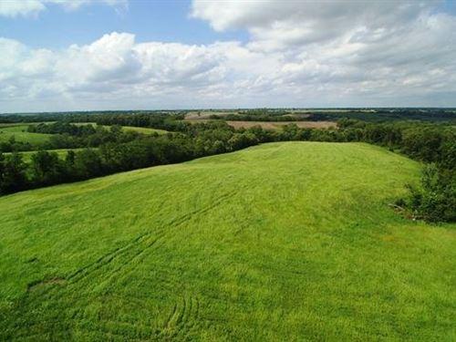 Wapello County Farm For Sale : Blakesburg : Wapello County : Iowa