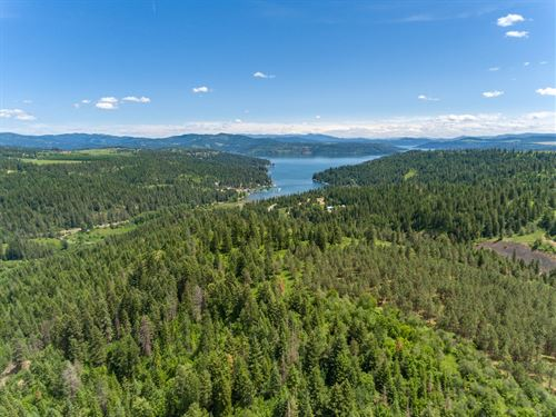 Idaho Exceptional Acreage Northwest : Worley : Kootenai County : Idaho
