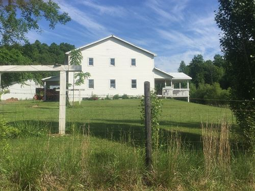 Farm 2 Homes, 3 Shops, Barn : Columbia : Adair County : Kentucky