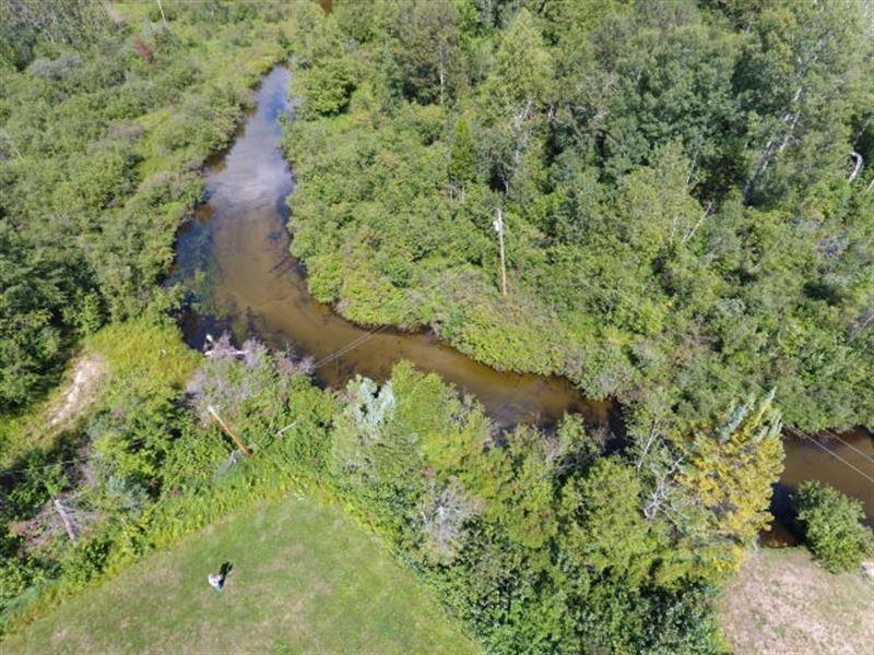 Riverfront Acreage Thunder Bay : Ranch for Sale : Atlanta