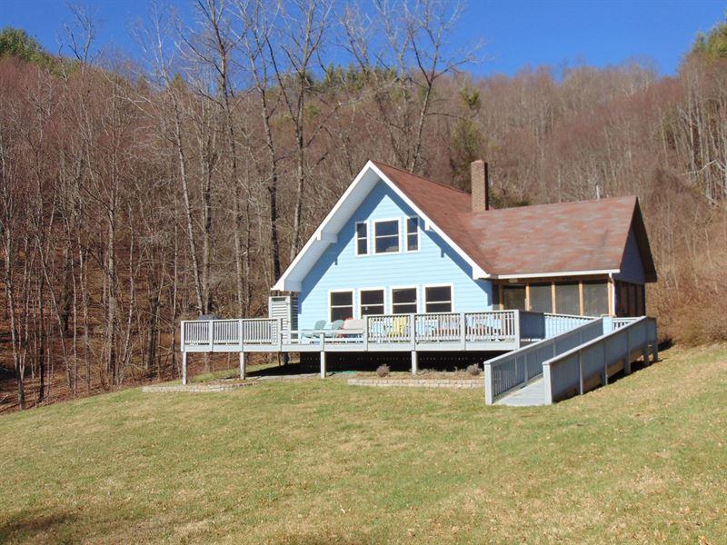 Wonderful Home View Blue Ridge : Laurel Springs : Alleghany County : North Carolina