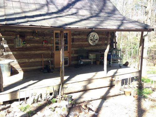 Offgrid Dwelling & Land Marshall : Marshall : Madison County : North Carolina