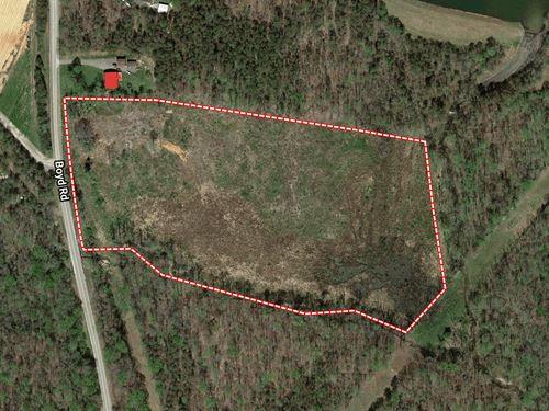 Auction, 16Ac Tract Lake Hunt Area : Reidsville : Rockingham County : North Carolina