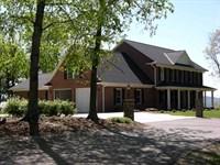 Mountain Top Brick Farmhouse 40 Ac : Sparta : Alleghany County : North Carolina