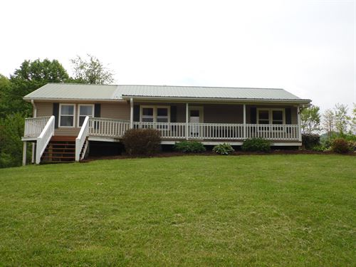 Ranch Style Home Blue Ridge : Sparta : Alleghany County : North Carolina