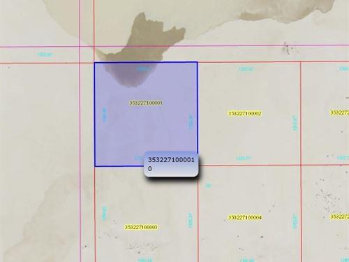 Large Vacant Lot Playa Black Rock : Winnemucca : Humboldt County : Nevada